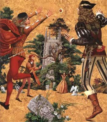 Иллюстрация 1 из 8 для Юный Роланд: Британские рыцарские сказки - Иван Малкович   Лабиринт - книги. Источник: Лабиринт