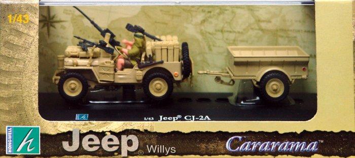 Иллюстрация 1 из 2 для Военный джип Willys с прицепом 1:43 (149) | Лабиринт - игрушки. Источник: Лабиринт