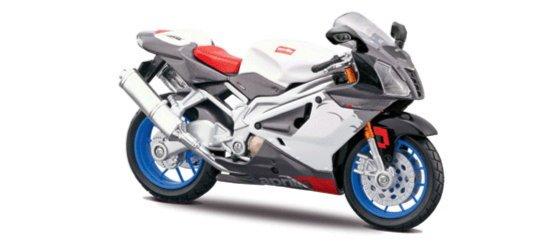 Иллюстрация 1 из 2 для Мотоцикл Aprilia RSV 1000R 1:12 (39060) | Лабиринт - игрушки. Источник: Лабиринт