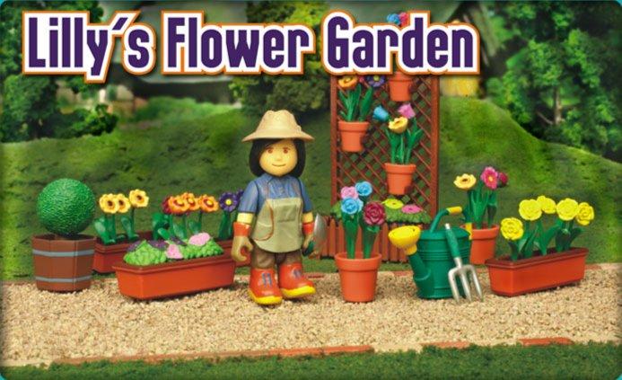 Иллюстрация 1 из 3 для Лили в цветочном саду (8570)   Лабиринт - игрушки. Источник: Лабиринт