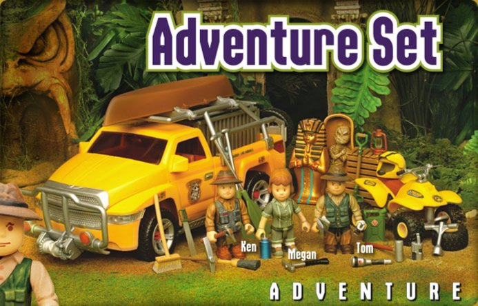 Иллюстрация 1 из 3 для Охотники за сокровищами (8665) | Лабиринт - игрушки. Источник: Лабиринт