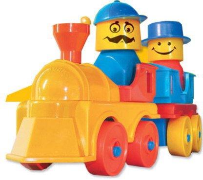Иллюстрация 1 из 11 для Железная дорога 90 элементов 18/18 (039) | Лабиринт - игрушки. Источник: Лабиринт