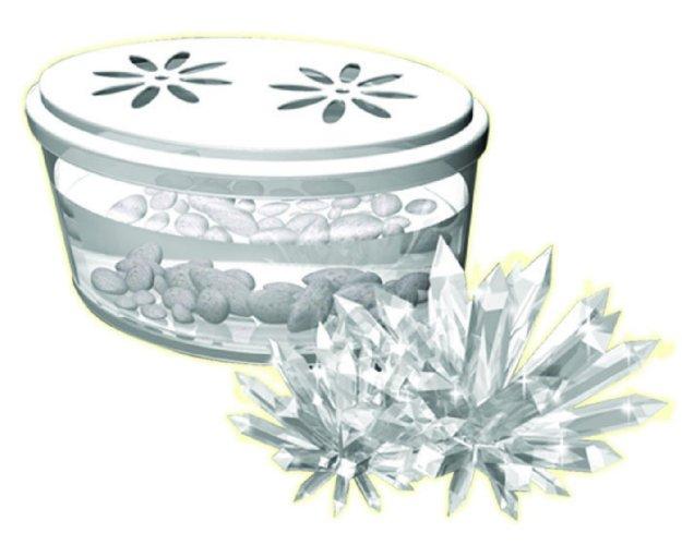 Иллюстрация 1 из 3 для Кристаллизация. Белый кристалл (28901) | Лабиринт - игрушки. Источник: Лабиринт