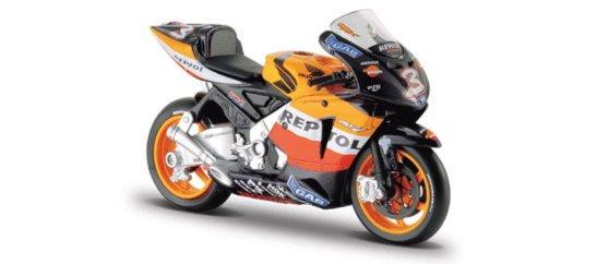 Иллюстрация 1 из 2 для Мотоцикл Honda Repsol 1:18 (39008) | Лабиринт - игрушки. Источник: Лабиринт