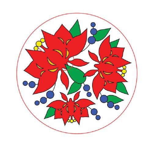 """Иллюстрация 1 из 4 для Роспись по шелку """"Красный цветок"""" 757011 (маленький формат)   Лабиринт - игрушки. Источник: Лабиринт"""