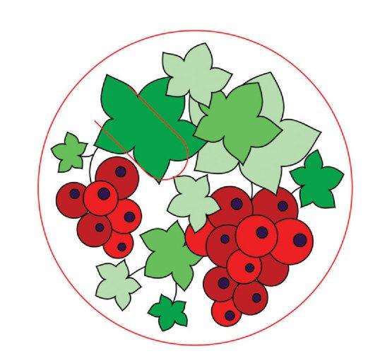 """Иллюстрация 1 из 3 для Роспись по шелку """"Красные ягоды"""" 757015 (маленький формат)   Лабиринт - игрушки. Источник: Лабиринт"""
