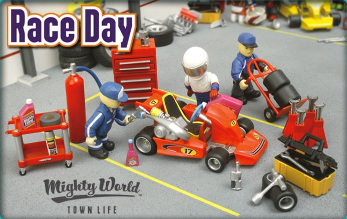 Иллюстрация 1 из 3 для Гоночный день (8612) | Лабиринт - игрушки. Источник: Лабиринт