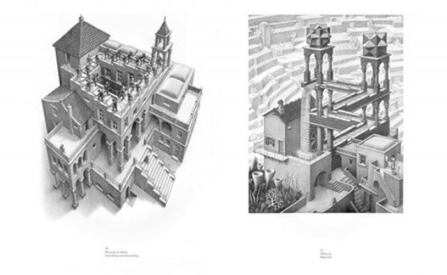 Иллюстрация 1 из 25 для Магия М. К. Эшера - Мауриц Эшер   Лабиринт - книги. Источник: Лабиринт