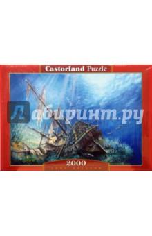 Puzzle-2000. Затонувший корабль (С-200252) пазлы crystal puzzle 3d головоломка вулкан 40 деталей