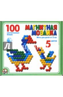 Мозаика-100 магнитная: 5 цветов (00961) от Лабиринт