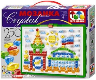 Иллюстрация 1 из 2 для Мозаика 250 элементов Кристалл (00-053)   Лабиринт - игрушки. Источник: Лабиринт