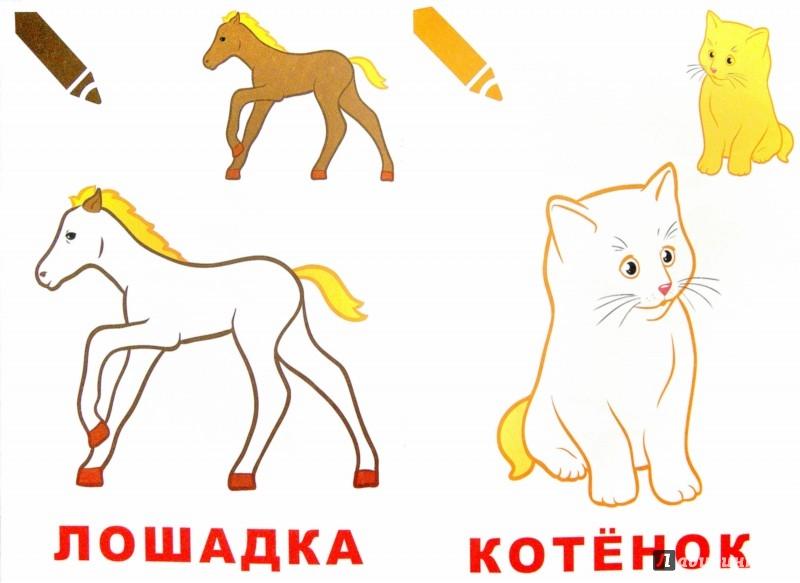 Иллюстрация 1 из 9 для Маленький художник. Выпуск 1. Животные   Лабиринт - книги. Источник: Лабиринт