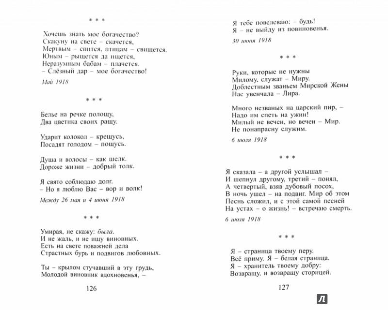 Иллюстрация 1 из 4 для Стихотворения - Марина Цветаева   Лабиринт - книги. Источник: Лабиринт