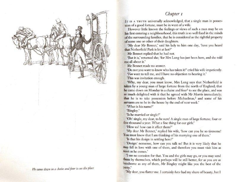 Иллюстрация 1 из 18 для Pride and Prejudice - Jane Austen | Лабиринт - книги. Источник: Лабиринт