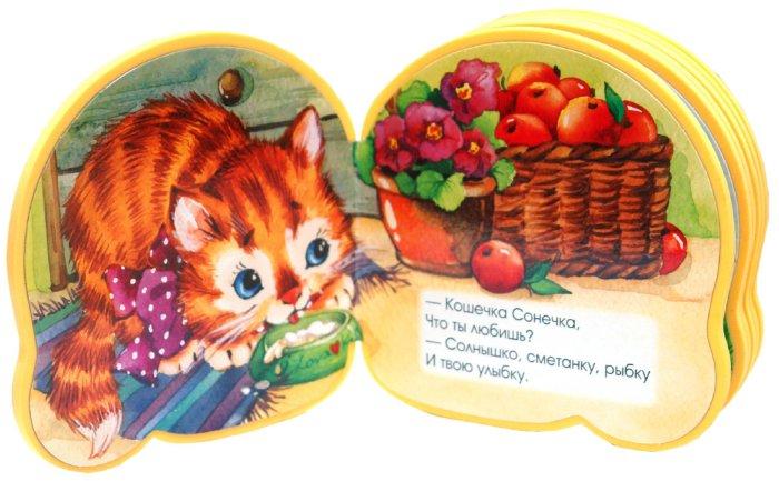 Иллюстрация 1 из 27 для Книжки-пышки вырубка + аппликация. Кошечка Сонечка - Екатерина Карганова | Лабиринт - книги. Источник: Лабиринт