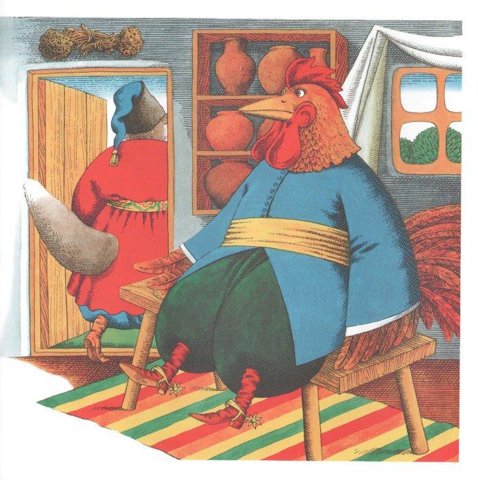 Иллюстрация 1 из 21 для Сказка о коте, петухе и лисе | Лабиринт - книги. Источник: Лабиринт