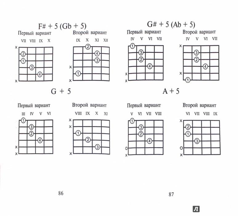 Иллюстрация 1 из 5 для Самые популярные аккорды для шестиструнной гитары | Лабиринт - книги. Источник: Лабиринт