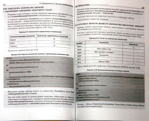 Иллюстрация 1 из 7 для 1С: Предприятие 8.1 Простые примеры (+CD) - Габец, Гончаров | Лабиринт - книги. Источник: Лабиринт