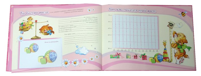 Иллюстрация 1 из 7 для Первый год малышки. Бархат | Лабиринт - сувениры. Источник: Лабиринт
