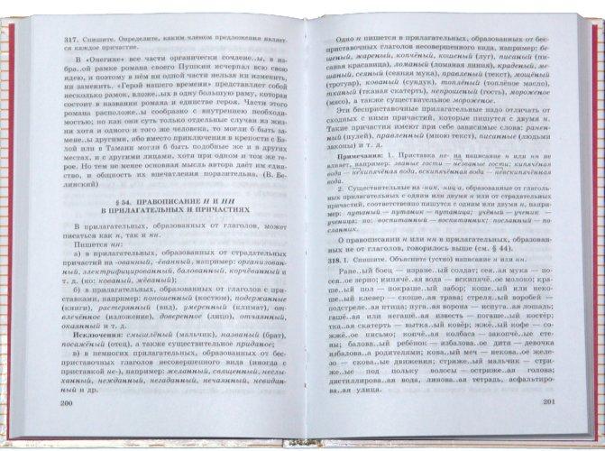 Учебник по русскому языку 10-11 класс николина