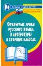 Налетова Тамара Открытые уроки русского языка и литературы в старших классах