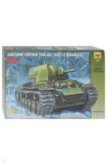 Купить Советский тяжелый танк КВ-1 модель 1940 г. с пушкой Л-11 (3624), Звезда, Бронетехника и военные автомобили (1:35)