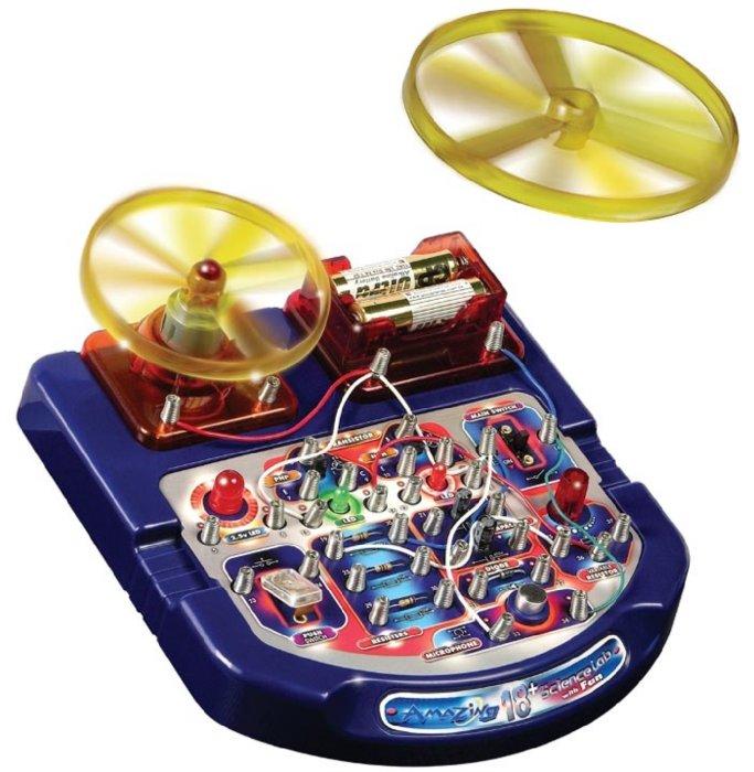 Иллюстрация 1 из 2 для Научный стенд с вентилятором (18 опытов) (32018) | Лабиринт - игрушки. Источник: Лабиринт
