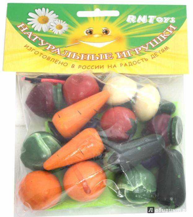 Иллюстрация 1 из 6 для Д-361 Волшебный мешочек овощи цветные | Лабиринт - игрушки. Источник: Лабиринт