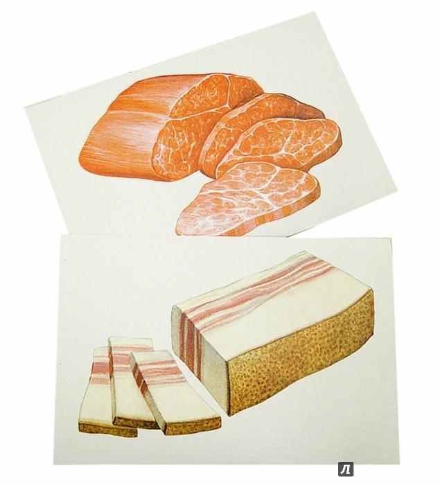 Иллюстрация 1 из 16 для Тематические карточки: Продукты питания (Food) | Лабиринт - книги. Источник: Лабиринт