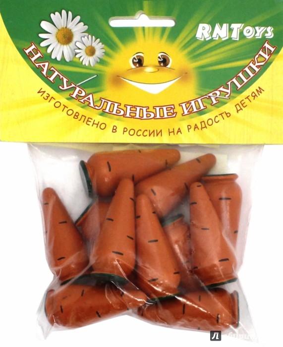Иллюстрация 1 из 7 для Морковь Счетный материал (Д-365)   Лабиринт - игрушки. Источник: Лабиринт