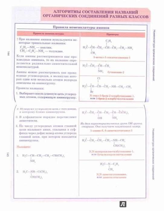 Иллюстрация 1 из 20 для Органическая химия. Весь школьный курс в таблицах | Лабиринт - книги. Источник: Лабиринт