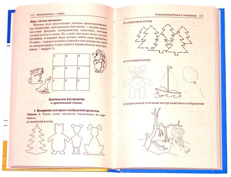 Иллюстрация 1 из 11 для Мой ребенок - левша. Диагностика и обучение леворуких детей - Татьяна Пятница   Лабиринт - книги. Источник: Лабиринт