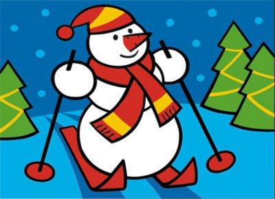 Иллюстрация 1 из 16 для Фреска. Новый год - Снеговик (407013) | Лабиринт - игрушки. Источник: Лабиринт