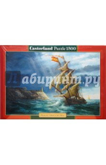 Puzzle-1500 Парусник (С-150427) puzzle 1500 лондон c 151271