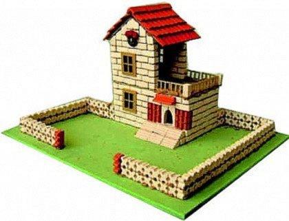 Иллюстрация 1 из 2 для Строим город. Коттедж | Лабиринт - игрушки. Источник: Лабиринт
