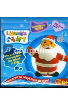 Копилка Дед Мороз (масса для лепки + контейнер).