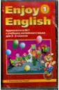 Аудиокассеты №1 и 2 к учебнику английского языка для начальной школы