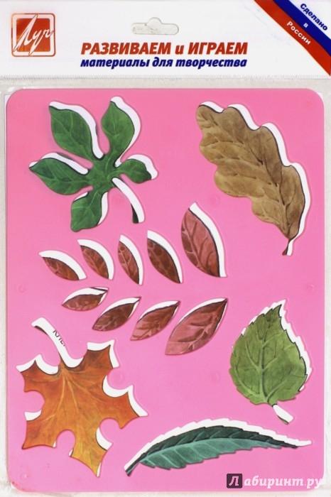 Иллюстрация 1 из 7 для Трафарет пластмассовый. Листья деревьев | Лабиринт - игрушки. Источник: Лабиринт