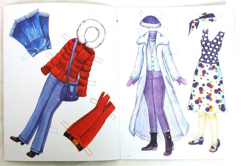 Иллюстрация 1 из 13 для Одеваем Лену   Лабиринт - книги. Источник: Лабиринт