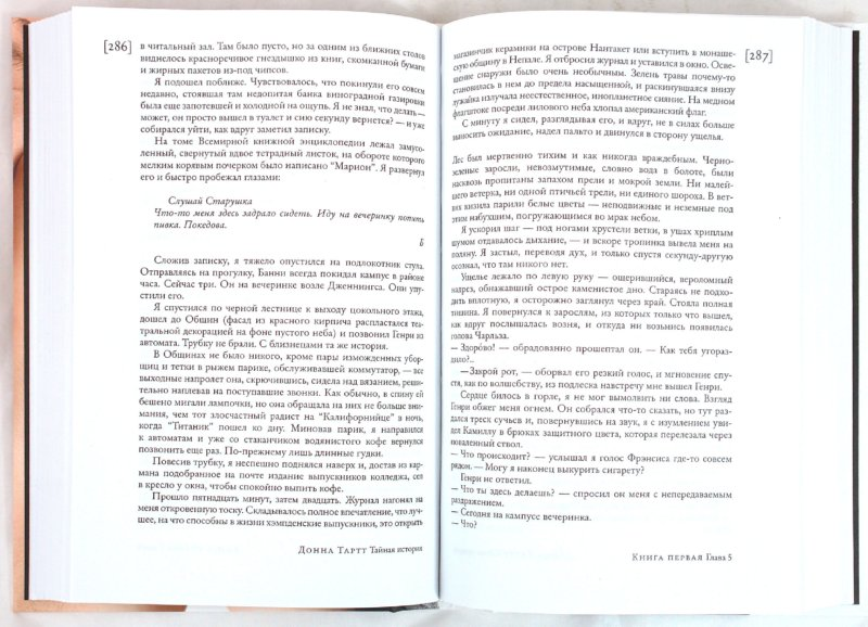 Иллюстрация 1 из 19 для Тайная история - Донна Тартт | Лабиринт - книги. Источник: Лабиринт
