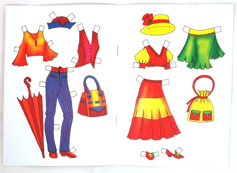 Иллюстрация 1 из 8 для Бумажная кукла: Зина | Лабиринт - книги. Источник: Лабиринт