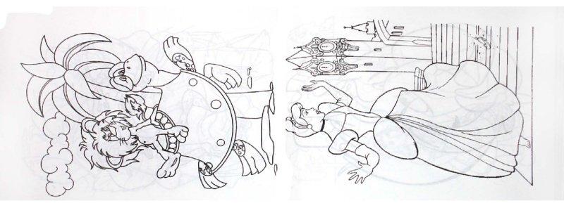 Иллюстрация 1 из 6 для Суперраскраска-мини: Сказочные герои (1726) | Лабиринт - книги. Источник: Лабиринт