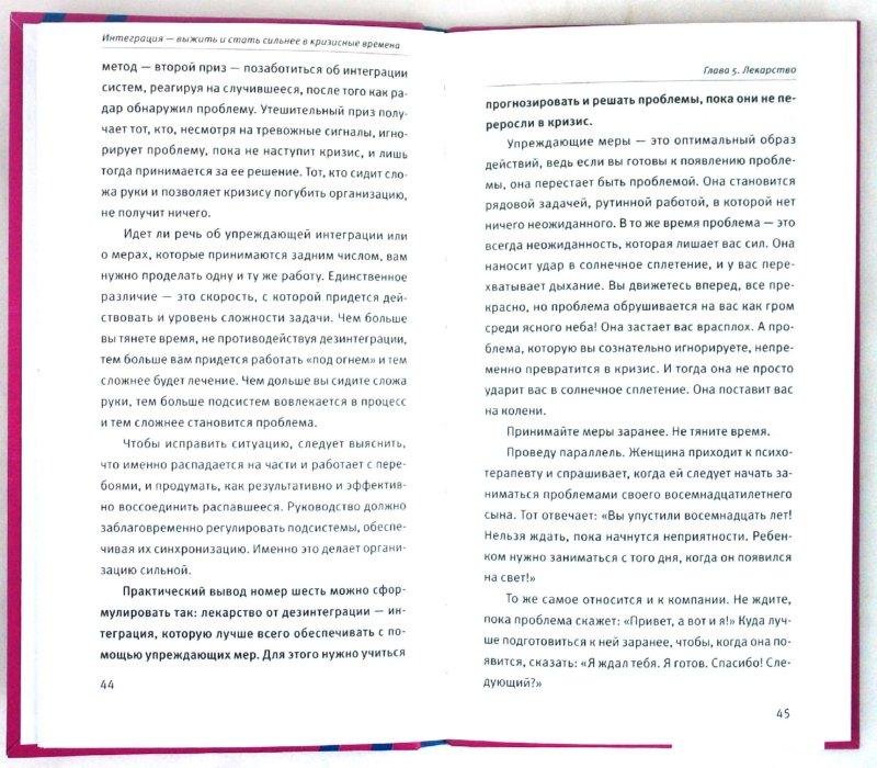 Иллюстрация 1 из 13 для Интеграция: Выжить и стать сильнее в кризисные времени - Ицхак Адизес | Лабиринт - книги. Источник: Лабиринт