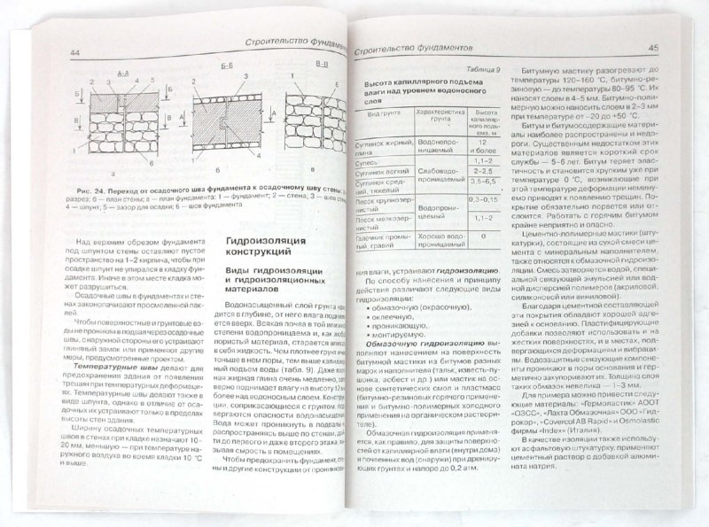 Иллюстрация 1 из 3 для Фундаменты, стены, фасады | Лабиринт - книги. Источник: Лабиринт