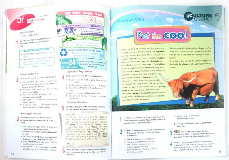 Иллюстрация 1 из 9 для Английский зык. 8 класс: Учебник для общеобразовательных учреждений - Ваулина, Дули, Подоляко, Эванс | Лабиринт - книги. Источник: Лабиринт