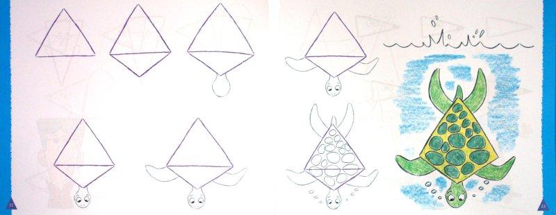 Иллюстрация 1 из 32 для Рисуем треугольник - рисуем все! - Кристофер Харт | Лабиринт - книги. Источник: Лабиринт