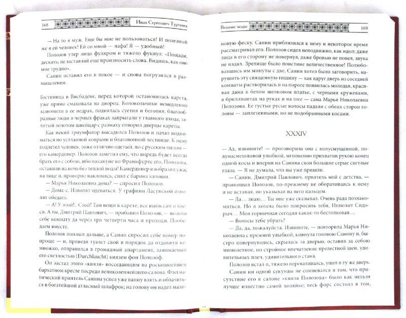 Иллюстрация 1 из 4 для Ася. Вешние воды. Накануне - Иван Тургенев | Лабиринт - книги. Источник: Лабиринт