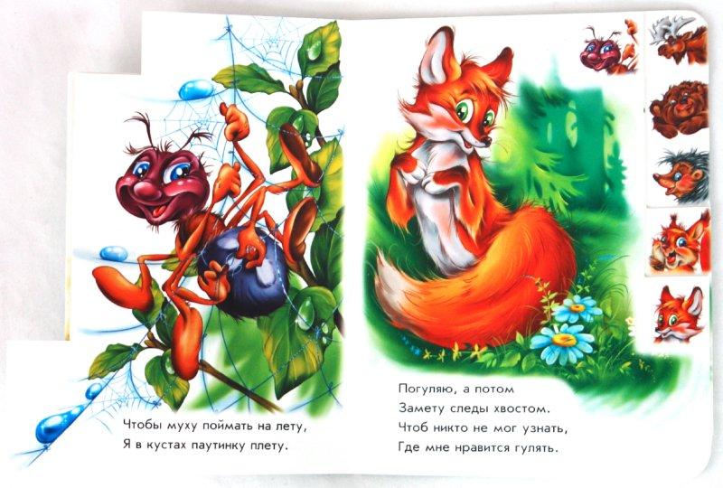 Иллюстрация 1 из 11 для Моя книжка: Лесные зверята - Ринат Курмашев | Лабиринт - книги. Источник: Лабиринт
