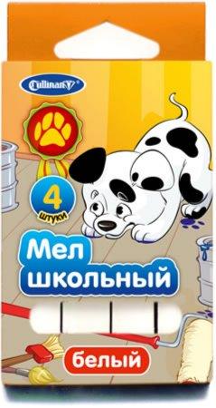 Иллюстрация 1 из 9 для Мел школьный (4 штуки, белый) (FMB-4Dal) | Лабиринт - канцтовы. Источник: Лабиринт
