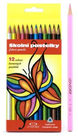 Иллюстрация 1 из 2 для Карандаши Trangular shape, 12 цветов (131 (1095)) | Лабиринт - канцтовы. Источник: Лабиринт